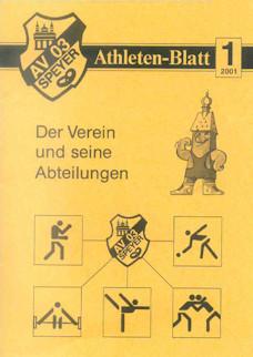 Athletenblatt 01/2001