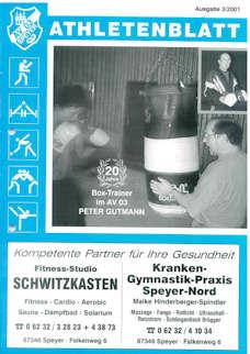 Athletenblatt 03/2001