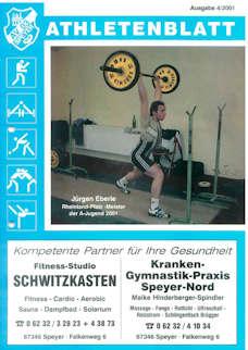 Athletenblatt 04/2001
