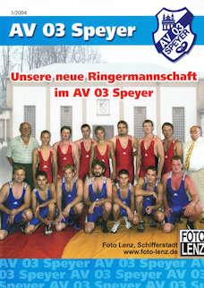 Athletenblatt 01/2004