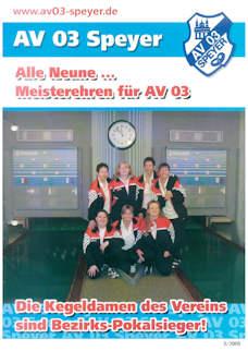 Athletenblatt 03/2005