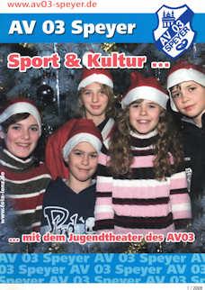 Athletenblatt 01/2008