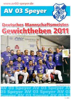Athletenblatt 03/2011