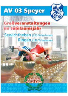Athletenblatt 03/2003